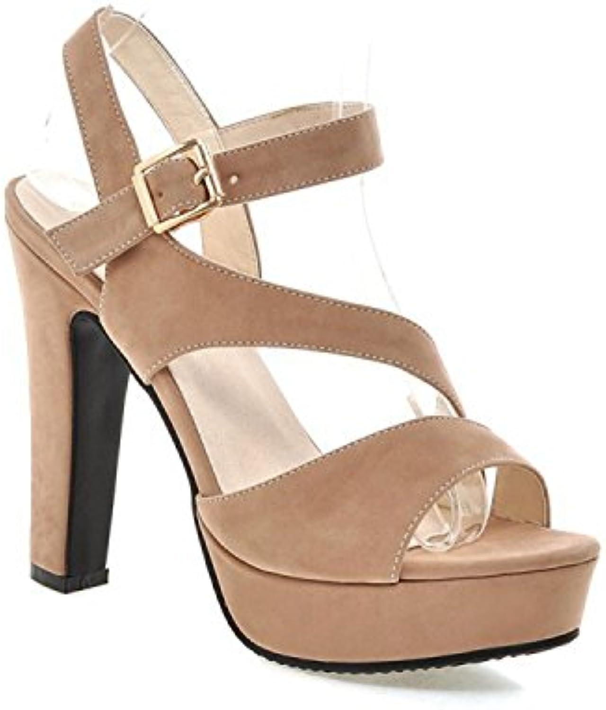 Chaussures de talons romaines de sous-vêteHommes t s Chaussures  s t Peep Toe Chaussures de travail pour femmes...B07FZ4KPHKParent f58752