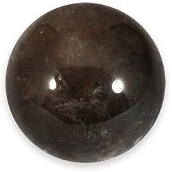 Cuarzo ahumado Esfera cristalina media 4,5cm