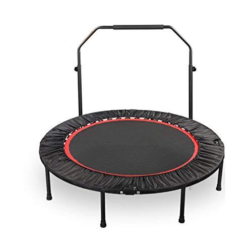 Trampolini elastici per interni trampoline elastico fitness trampolino pieghevole letto da salto salto professionale perdita di peso professionale con manico letto da salto
