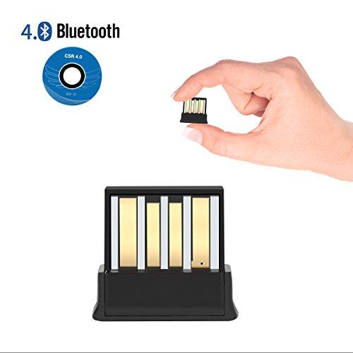 USB Bluetooth Adaptateur,adaptateur bluetooth pc 4.0 /clé bluetooth/Le dernier style/Plug & Play/Portable Mini Design,pour Windows XP/Vista /7/8/10