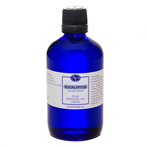 Olio essenziale di EUCALIPTO per aromaterapia - puro al 100% - 100 ml