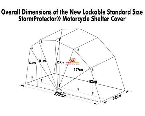 StormProtector® Fahrradzelt / Motorradgarage - 6