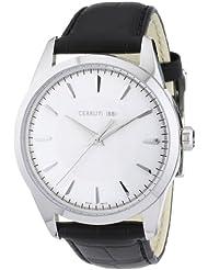 Cerruti 1881 Herren-Armbanduhr XL FALCINI Analog Leder CRA045A212B