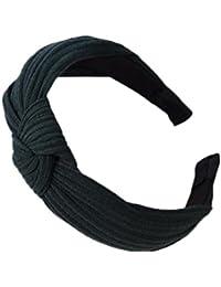 Demarkt 1 Pcs Bandeau bande de Cheveux en alliage traverser Tissu Elastique Serre-têtes Extensible Hairband Pour Femme Filles Bijoux Mariage Maquillage Fête Décoration Headband