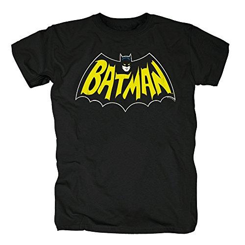 Classic Batman Logo T-shirt (TSP Batman - Bat Classic Logo T-Shirt Herren S Schwarz)