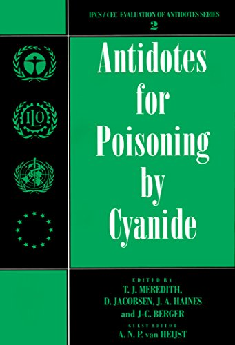 Antidotes for Poisoning by Cyanide (International Programme on Chemical Safety: Evaluation of Antidotes, Band 2)