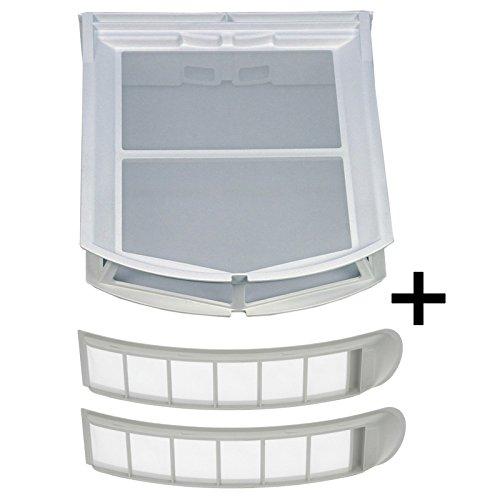 A/c-filter-trockner (2x Flusensieb 4759513 + 1x Filter 6244611 an Einfüllring Sieb Filter Trockner Miele)