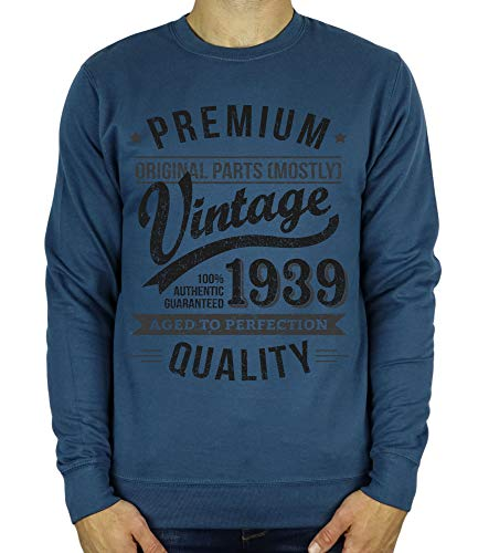 1939 Vintage Year - Aged to Perfection - Sweatshirt Cadeau...