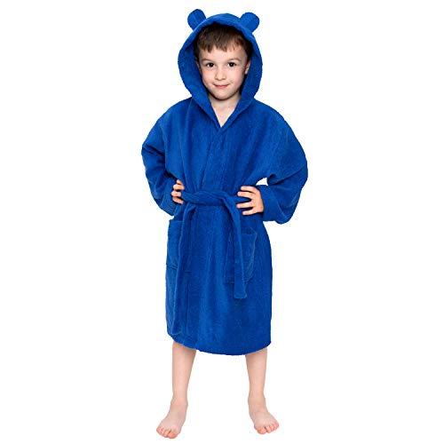 ⭐ Batas Niños, Bebé, Niña, Niño, Talla 3-4 años (98-104cm), Azul Marino,...