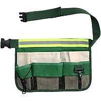 YongYI 9 en 1 Bolsa de herramientas el/éctrica ri/ñonera de bolsillo para herramientas soporte de nailon 600D destornillador bolsa de herramientas resistente y duradero kit de herramientas
