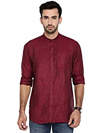 c487246b69028 Khoday Williams Men s Shirt Casual Full Sleeves Regular Fit Solid Shirt  (Size-40