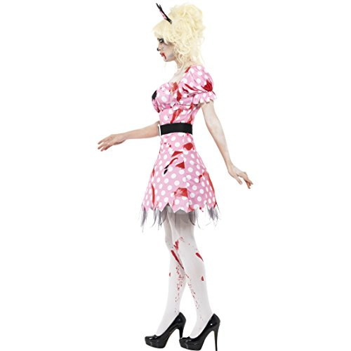 Imagen de vestido ratón zombi  m es 40/42   disfraz rata zombi   traje halloween roedor   disfraz halloween para mujer alternativa
