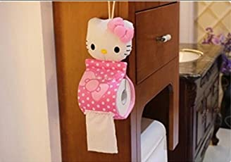 The Collectives Cotton Hello Kitty Tissue Case Box Holder (31x13cm, Pink)