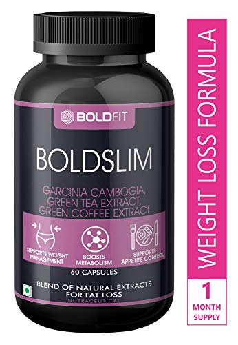 Boldfit Weight Loss Pills For Women and men - Fat Burner, Diet Pills, garcinia combogia keto for weight loss capsules