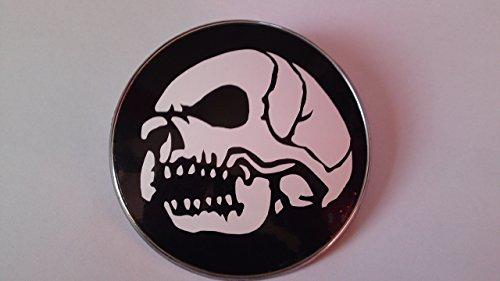2x 82mm Emblem Folie Skull