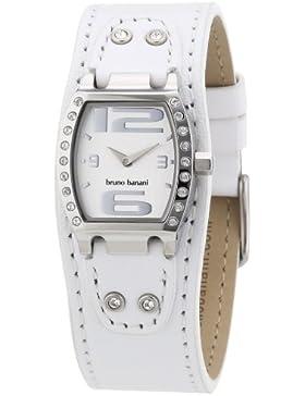 Bruno Banani Damen-Armbanduhr HELIA LADIES Analog Quarz Leder BR21095