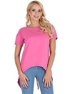 Clea Blusa Asimétrica con Abertura EN La Espalda