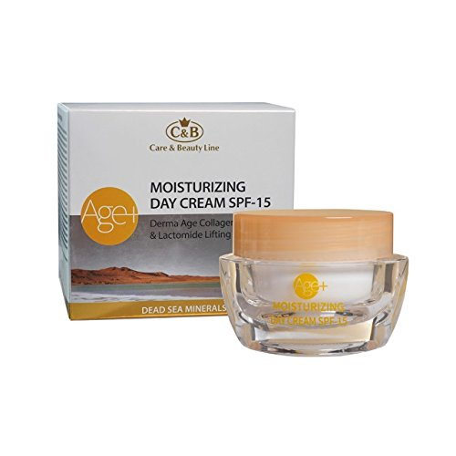 C&B Dead Sea Minerals Age+ Moisturizing Day Cream SPF 15 Derma Age Collagen