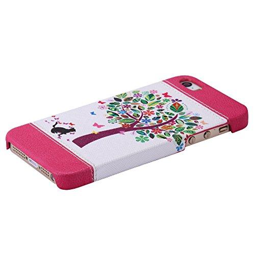 TPU Silikon Schutzhülle Handyhülle Painted pc case cover hülle Handy-Fall-Haut Shell Abdeckungen für Smartphone Apple iPhone 5 5S SE +Staubstecker (11AC) 6