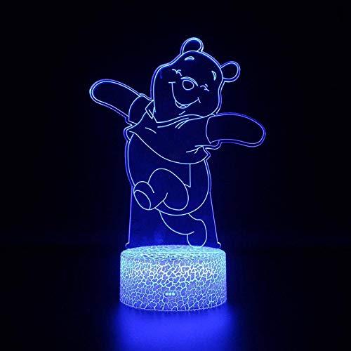 3d Lampe/Kindertag Geschenk 3d Nachtlicht/Energienbank Usb Led 3d Leuchten WWE Remote Touch-Schalter ()