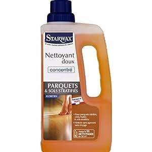 Nettoyant doux pour parquet stratifié Starwax