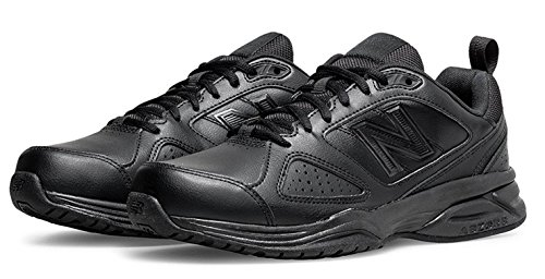 New Balance Mens Extra Wide Fit 4E Fitting Trainers (12.5, Black)
