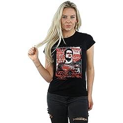 DC Comics mujer Batman v Superman False God Camiseta X-Large Negro