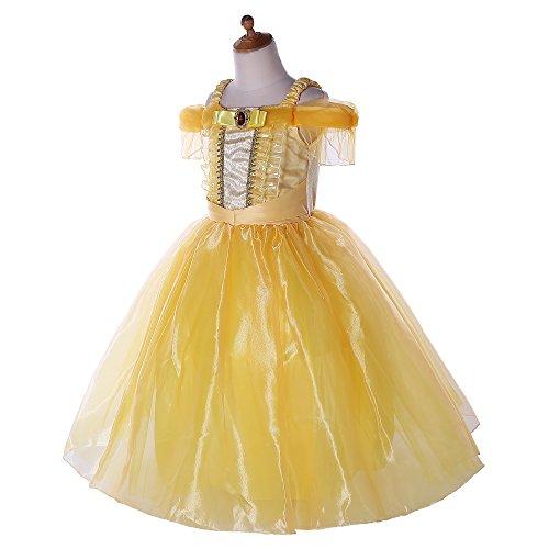 Pettigirl Mädchen Prinzessin Kostüm Ankleiden Party Schick Kleider 110