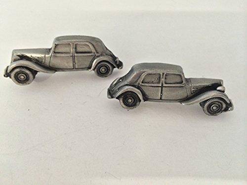 citroen-11-sport-3d-cufflinks-classic-car-pewter-effect-cufflinks-ref41