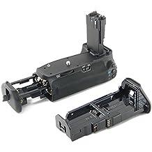 Empuñadura DynaSun E9 Battery Grip para Canon EOS 60D DSLR compatible con BG-E9 con 2 adaptadores para alimentación