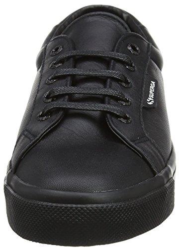 Superga Unisex-Erwachsene 2804 Nappau Sneaker Black (Total Black)