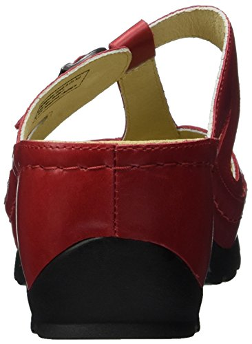Berkemann Pippa, Mules Femme Rouge