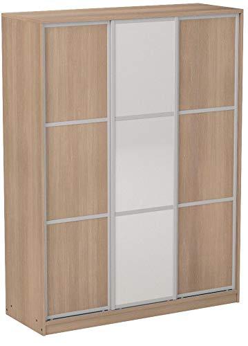 Armario ropero para dormitorio o habitacion en color cambrian y puerta de...