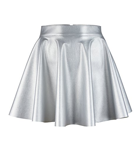 Roban Fashion ® Damen Röcke Wetlook Hohe