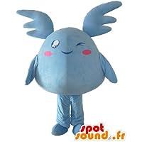 Pokémon mascota SpotSound azul, peluche gigante azul