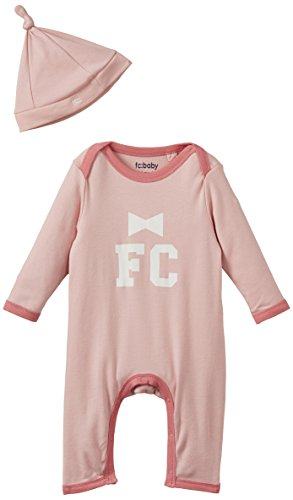 french-connection-cg1507-bodysuit-hat-mono-bebe-ninos-rosa-tickle-me-pink-9-12-meses