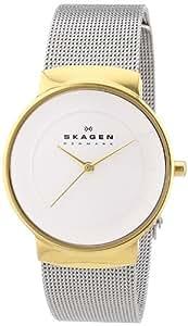 Skagen Damen-Armbanduhr Analog Quarz Edelstahl SKW2076