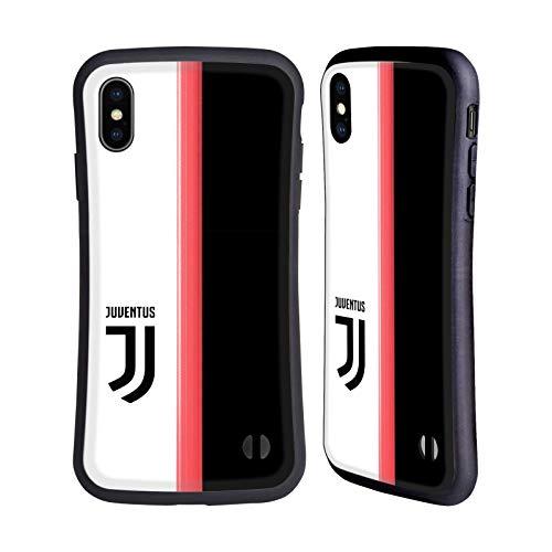 Head Case Designs Ufficiale Juventus Football Club in Casa 2019/20 Race Kit Cover Ibrida Compatibile con iPhone XS Max