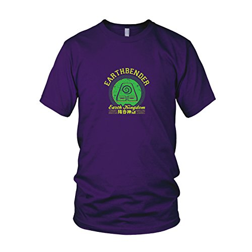 Planet Nerd Earthbender Kingdom - Herren T-Shirt, Größe: -