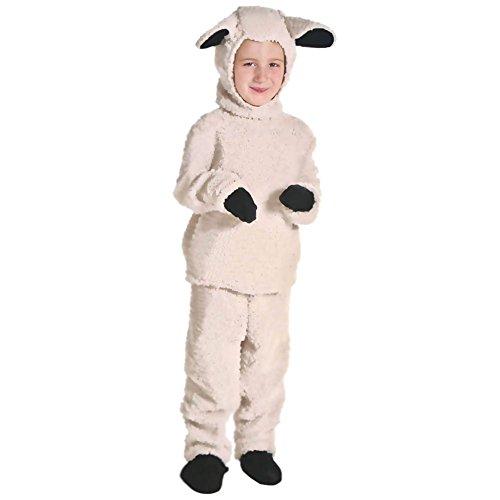 LSERVER Cosplay Kinder Bühne Leistung Kleidung Spiel Kostüm, Kleine Schafe, M(Fabrikgröße: L)