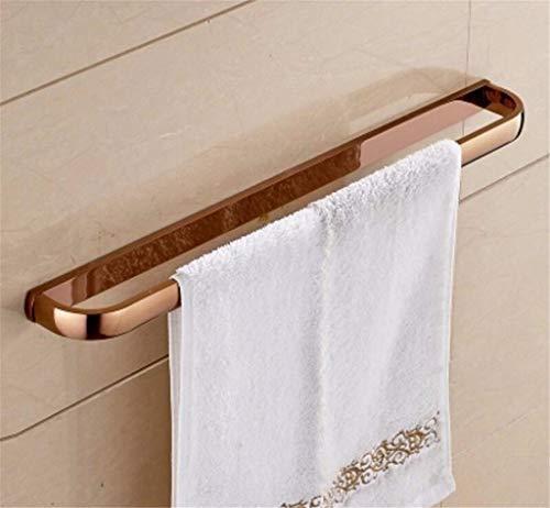 FENCAIYAO Antik-Messing Handtuchhalter Bad Handtuchhalter antike Klassische Wandhalterung für Badezimmer (Color : Rose Gold (Usa))