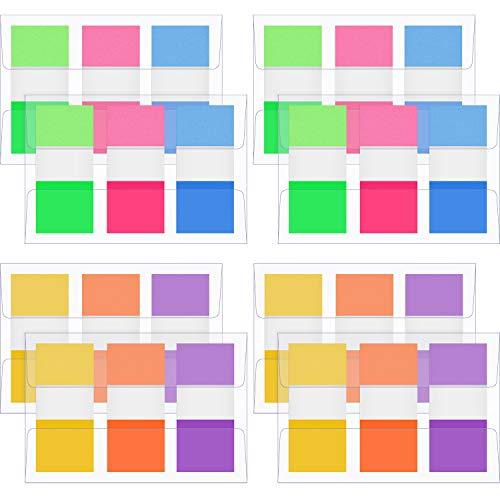 480 Stücke Seite Marker, Pop Up Index Tabs Fahnen, Haftnotiz Neon Fahnen, 0,8 Zoll Breit
