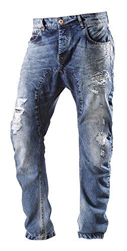 VSCT Herren Anti Fit Jeans destroyed denim