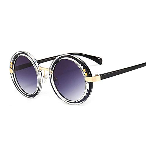 WERERT Sportbrille Sonnenbrillen Luxury Round Sunglasses Designer Ladies Oversized Mirror Sunglasses Women Diamond Sun Glasses Female