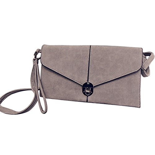SSMK Evening Handbag, Poschette giorno donna Light Grey
