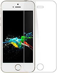 iPhone 5S Protector de pantalla, palady iPhone 5S 5C se 5Vidrio templado Protector de pantalla para Apple iPhone 5S se 5C 5(2unidades)