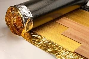 Novostrat Sonic Gold 5mm - Acoustic Underlay For Wood or Laminate - cheap UK light store.