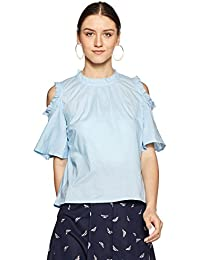 Symbol Amazon Brand Women's Regular Fit Shirt