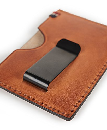 Superdry Leather Card Holder (Brown) Image 4