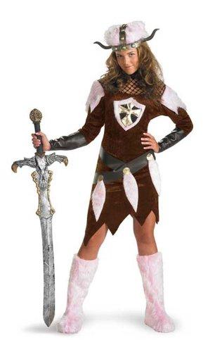 Kostüm 2474T - Viking Vixen, Größe 36 (T1, Size 8/10, Size 36/38)M